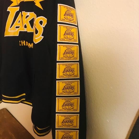 Jh Collectibles Jackets Coats La Lakers Reversible Nba Finals Championship Coat Poshmark